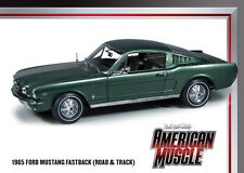 1965 Ford Mustang 2+2 fastback Twilight Turquoise 1:18 Auto World 989