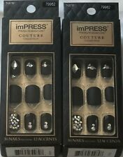 (2) Kiss Impress Aufdrücken Maniküre Couture Collection, BIPL02 Lavish