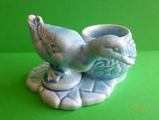 WADE BLUE DUCK PECKING POSY BOWL