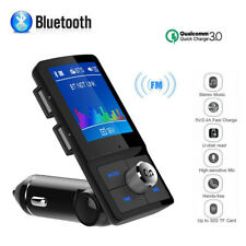 Wireless Bluetooth Handsfree Car Kit FM Transmitter MP3 Player USB Charger AUX.