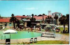 ST. SIMONS ISLAND, Georgia  GA    KING and PRINCE HOTEL Swimming Pool  Postcard