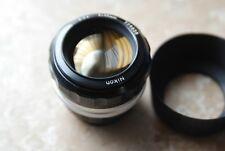 Nikon Nikkor 55mm F1.2 Manual Focus Lens Non AI