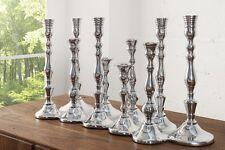 10 Armiger Kerzenleuchter Aluminium Kerzenständer Kerzenhalter Barock Kandelaber