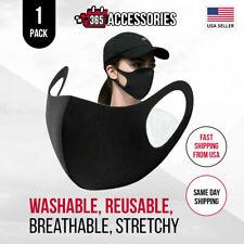 Face Mask, Black Fashion Washable, Reusable, Breathable, Unisex Mask *US SELLER*