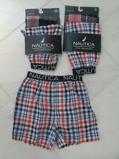 Nautica Boys Boxer Brief Shorts Underwear 6 7 ~~5 Pairs~~