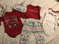 Unisex Baby Christmas Outfit Lot