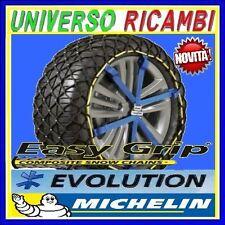 ESAURITE!CATENE NEVE MICHELIN EASY GRIP EVOLUTION EVO 7 X PNEUMATICI 225/40-R18