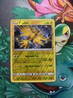 Pokemon ZAPDOS 24/68 Hidden Fates RARE Rev Holo - - MINT