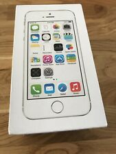 Original iPhone 5S 16GB box only  Silver 16gb