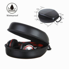 Portable Waterproof Earphone Headphone Storage Case Pouch Shockproof Carry Bag