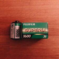 Discontinued Fujifilm Superia 1600 ~ Exp. 7/2018