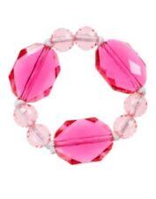 Gymboree Aloha Sunshine Girls Bead Bracelet Pink Yellow NEW