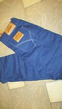 NEW FRESH BRAND TERRY JEANS MENS 34X33 SLIM FIT ROYAL  FREE SHIP