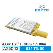 E31-TTL-50 low power UART AX5043 433MHz wireless transmitter and receiver module