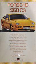 Hasegawa 1/24 Porsche 968CS (Rare) - HAS-20112
