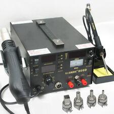 220V Hot Air Gun Power Supply 3-in-1 Soldering Rework Station Saike 909D