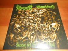 """WOMBBATH / WARHOUND 7""""EP -Split- OLD SCHOOL DEATH METAL"""