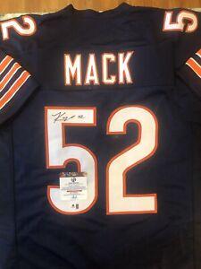 Khalil Mack Signed Jersey (COA)