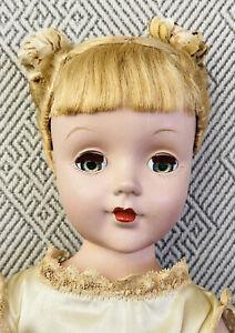 """Gorgeous 14"""" Vintage Arranbee Nanette 1950's Hard Plastic All Original"""