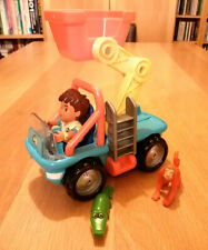 Go Diego Go! To-the-Rescue Extending Rescue Lift Vehicle and Figures
