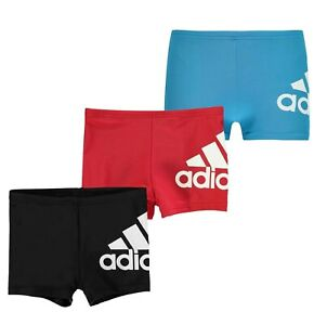 Boys Adidas Printed Logo Chlorine Resistant Swimming Boxers Sizes from 7 to 13