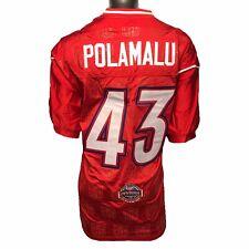 Pittsburgh Steelers Reebok Troy Polamalu Authentic 2005 Pro Bowl (54) 4XL Jersey