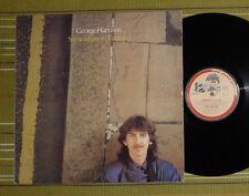 George Harrison, en algún lugar de Inglaterra Lp 1981 Reino Unido 1ST Press EX -/en muy buena condición Interior/SL