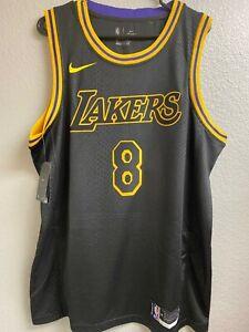 Large Kobe Bryant Jersey Black Mamba Day City Edition Los Angeles Lakers NBA L.A