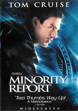 Minority Report ~ Tom Cruise Colin Farrell Max Von Sydow ~ Dvd Ws Free Shipping
