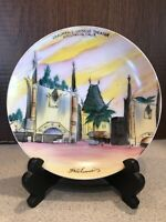 Vintage Grauman's Chinese Theater Plate Old Hollywood Made in Japan
