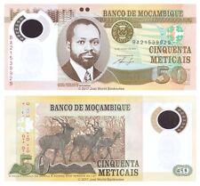 Mozambique 50 mozambiqueños 2011 P-150 polímero Billetes Unc