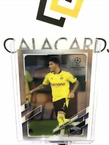 2020-21 Topps Chrome Jadon Sancho #78 Dortmund Man Utd England