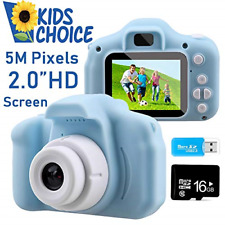 Coodoo Kids Camera Toys for 4-8 Year Old Boys Toddler Rechargeable Cameras with