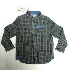 Boys shirt DESIGNER age 3 - 10 y RRP £30 Angel & Rocket ( Brand sold at Next )