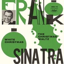 "Frank Sinatra WHITE CHRISTMAS Black Friday RSD 2016 New Colored Vinyl 7"" Single"