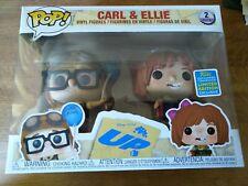 Carl and Ellie Funko Pop Vinyl figure  Disney Pixar Up 2-Pack SDCC