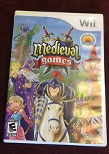 Medieval Games for Nintendo Wii COMPLETE with Manual TESTED FREE SHIPPING