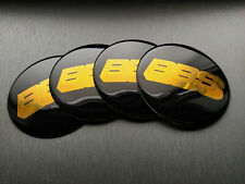 4x 80mm BBS Sticker Stickers Decal Badge For Center Caps Hub Cap Wheel Rim Car