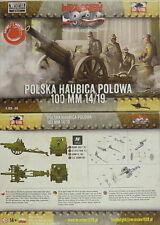 100 mm Haubitze Skoda 1914/19, First To Fight, 1/72 Plastik ,NEU,