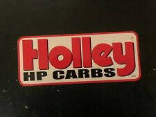 Holley HP Carbs decal sticker nascar high performance racing car nhra hot rod