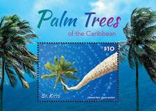 SAINT KITTS 2015 - PALM TREES OF THE CARIBBEAN STAMP SOUVENIR SHEET MNH