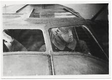 Pilot in der Heinkel He 59. Orig-Pressephoto um 1940