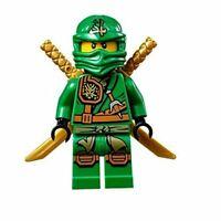 Genuine Lego Ninjago Lloyd Jungle Robe Tournament of Elements MiniFigure njo129