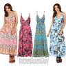Ladies Floral Maxi/Summer/Beach Dress Size 8, 10, 12, 14, 16, 18, 20, 22 NEW
