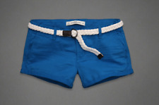 NWT Abercrombie & Fitch Women's Shorts Blue Size#8