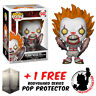 FUNKO POP IT 2017 PENNYWISE WITH SPIDER LEGS VINYL FIGURE + FREE POP PROTECTOR