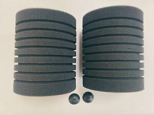 Biochemical sponge for bio-foam filter 150 gal (sponge + suction cup 2PACK)