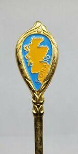 Vintage Gold Scotland Collectible Decorative Mini Spoon Home Décor