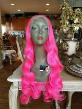 Hot Dark Pink Beauty Lace Front Wig 24-26 inches