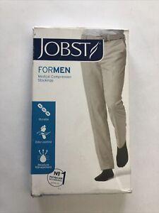 JOBST For Men Medical Compression Socks 15-20 mmHg X-Large Black 1 Pair (071)